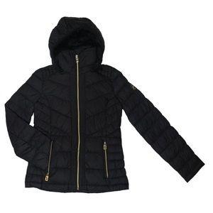 Black puffy Michael Kors jacket